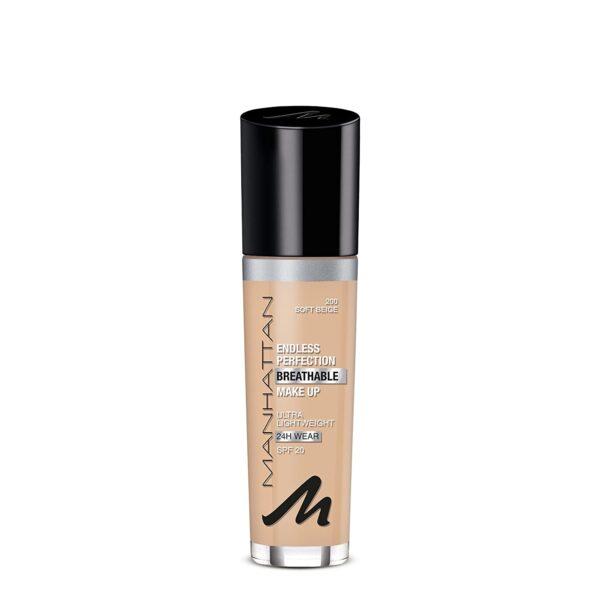 Manhattan Endless Perfection Breathable Makeup Ultra Light Weight SPF 20