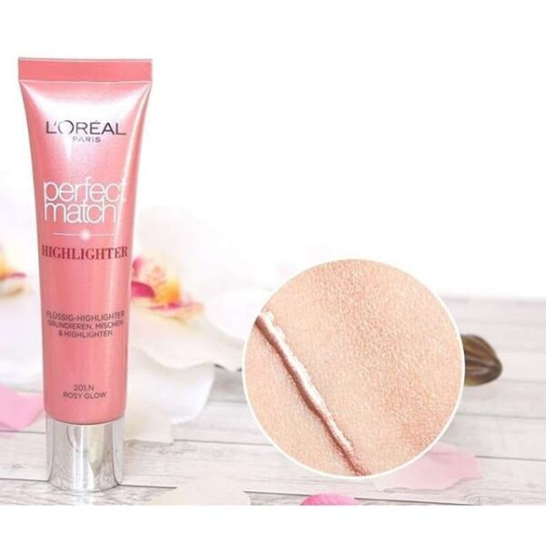 L'Oreal Perfect Match Highlighter Rosy Glow