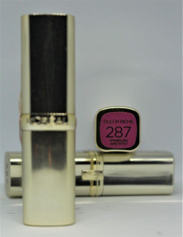L'Oreal Color Riche Lipstick 287 Sparkling Amethyst