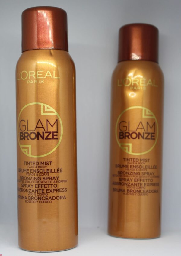 L'Oreal Glam Bronze Tinted Mist Face & Body (Bronzing spray)
