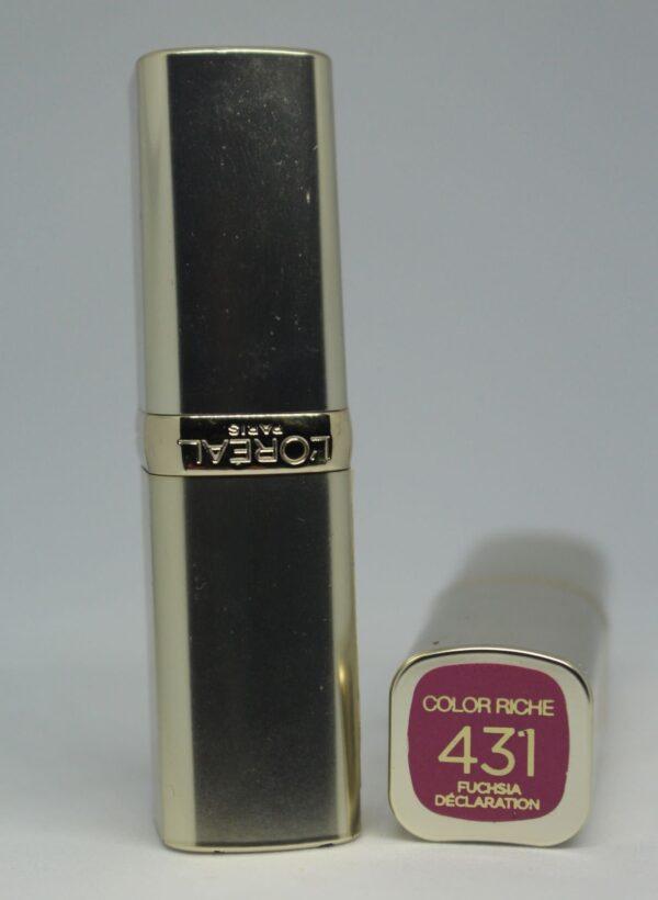 L'Oreal Color Riche Lipstick 431 Fuchsia Declaration