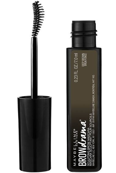 Maybelline Brown Drama Sculpting Brow Mascara -Transparent
