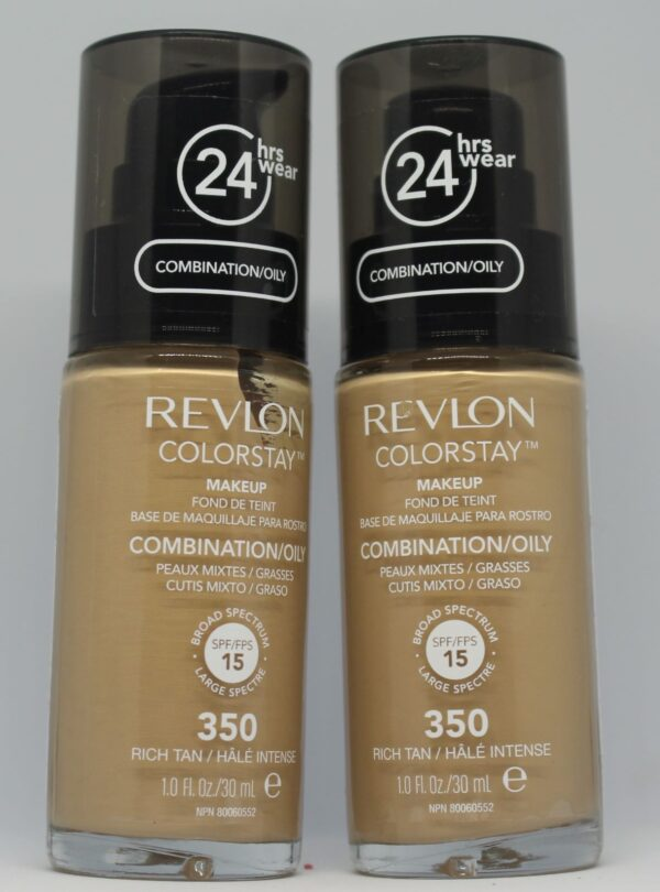 Revlon Colourstay Combination/Oily Spf 15 350 Rich Tan