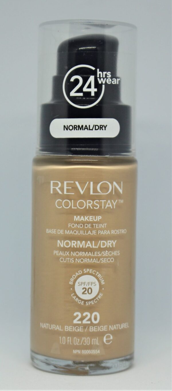Revlon Colourstay Makeup Normal/Dry SPF 20 220 Natural Beige